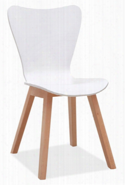 All Wood Guest Chair By Office Source