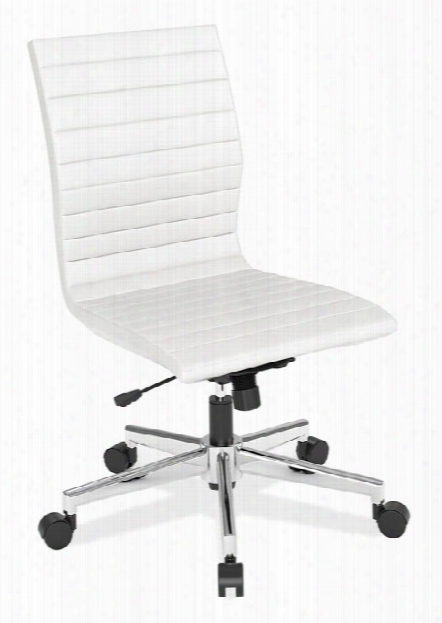 Armless Executive Mid Back Chair By Office Source