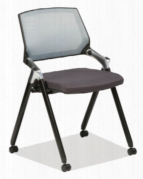 Armless Flex Back Nesting Chair By Office Source