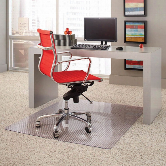 """Carpet Chairmat 45"""" X 53"""" By Office Source"""