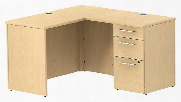 Compact L Shaped Desk By Bush