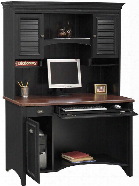 Computer Desk With Hutch By Bush