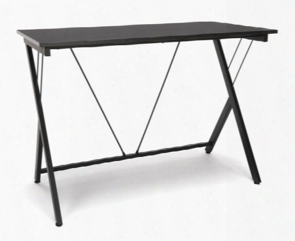 Computer Desk With Metal Legs By Essentials