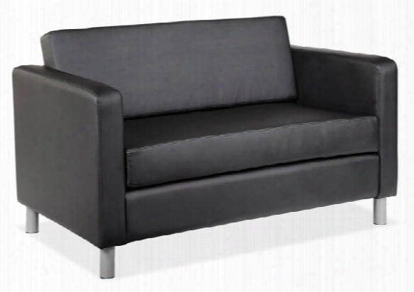 Contemporary Loveseat By Office Source