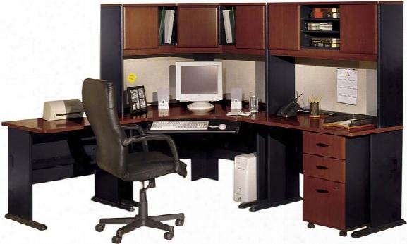 Corner Workstation By Bush