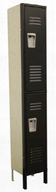 "Corridor Locker - 2 Tier 12""w X 12""d X 72""h By Office Source"