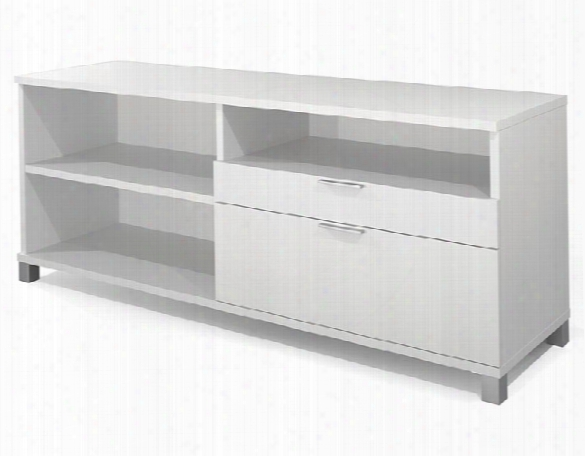 Credenza With Drawers By Bestar