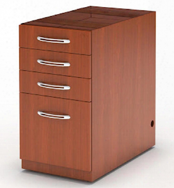 Desk Pencil/box/box/file Pedestal By Mayline Office Furniture