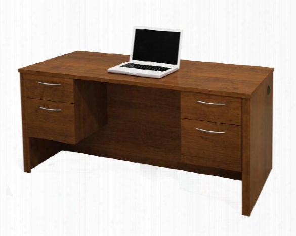 Double Pedestal Executive Desk 60450 By Bestar