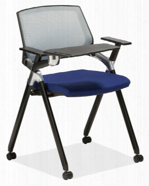 Flex Back Nesting Chair With Arms & Tablet By Office Source