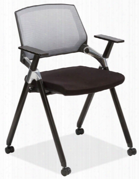 Flex Back Nesting Chair With Arms By Office Source