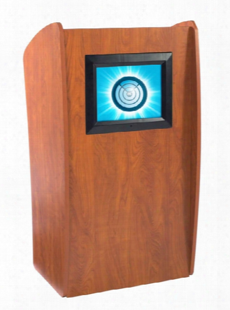 Floor Lectern With Digital Display By Oklahoma Sound