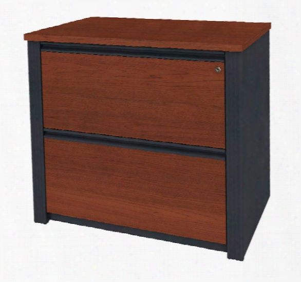 Fully Assembled 2 Drawer Lateral File 99636 By Bestar