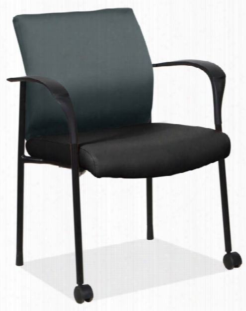 Guest Chair With Front Casters By Office Source