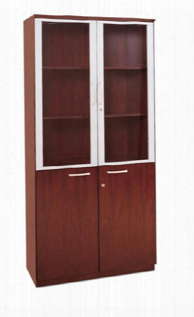 High Wall Cabinet With Doors By Mayline Office Furniture
