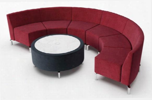 Horseshoe Configuration Lounge By Woodstock