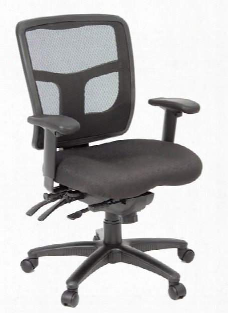 Kiera Multi Function Mesh Back Task Chair By Regency Furniture