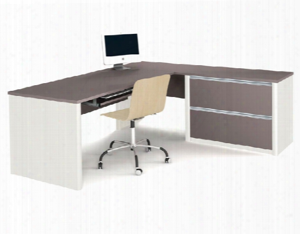 L Shaped Desk 93862 By Bestar