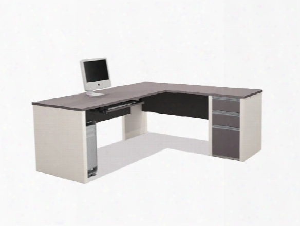 L Shaped Desk 93880 By Bestar