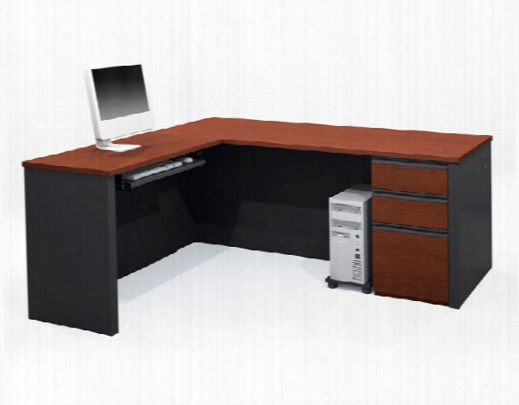 L Shaped Desk 99860 By Bestar