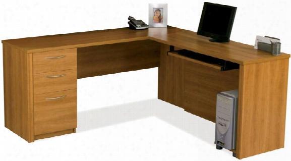 L Shaped Desk By Bestar