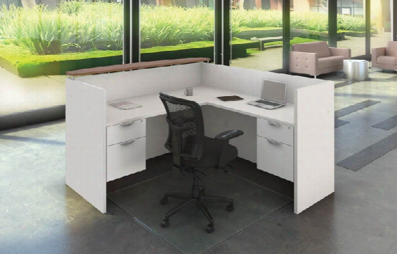 L Shaped Reception Desk Unit By Office Source