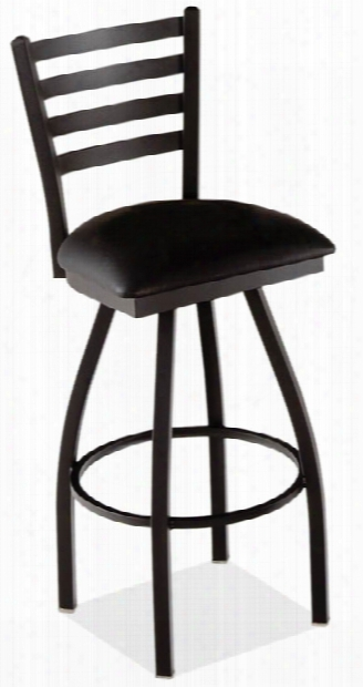 Ladder Back Swivel Barstool By Office Source