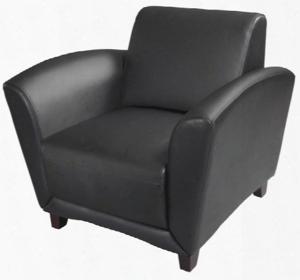 Leather Club Chair By Mayline Office Furniture