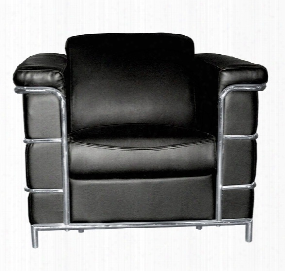 Leather Lounge Chair By Regency Furniture
