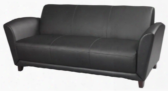 Leather Sofa By Mayline Office Furnituure