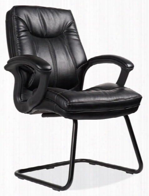Leatherette Side Chair By Office Source