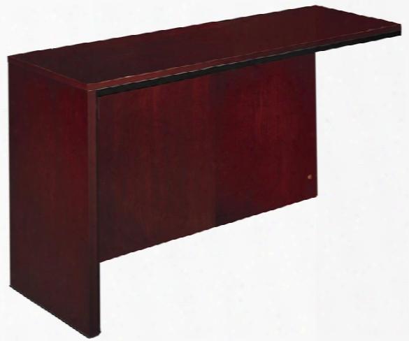 Left Reception Desk Return By Mayline Office Furniture