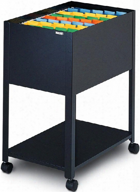 Letter Size Mobile Open File Cabinet By Mayline Office Furniture