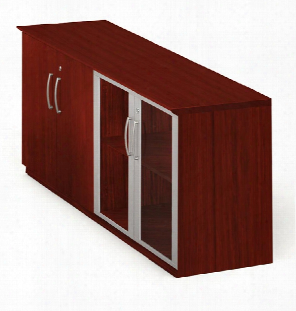 Low Wall Cabinet With Doors By Mayline Office Furniture