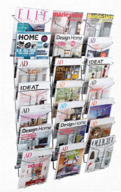 Magazine Wall Display By Alba