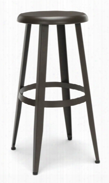 """Metal Stool 30"""" By Ofm"""