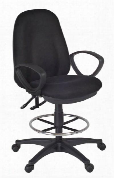 Momentumm Task Stool- Black By Regency Furniture