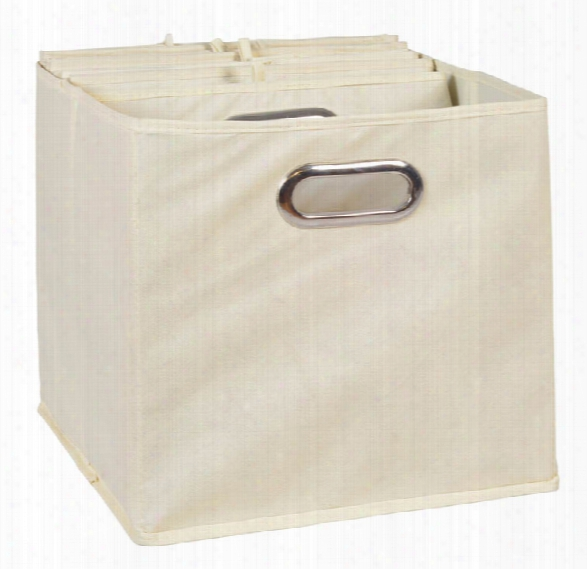Niche Cubo Set Of 6 Foldable Fabric Storage Bins By Regency Furniture