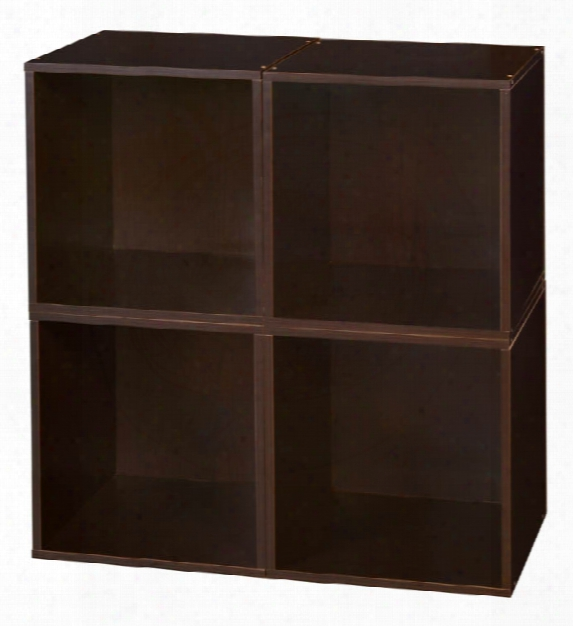 Niche Cubo Storage Set - 4 Cubes By Regency Furniture