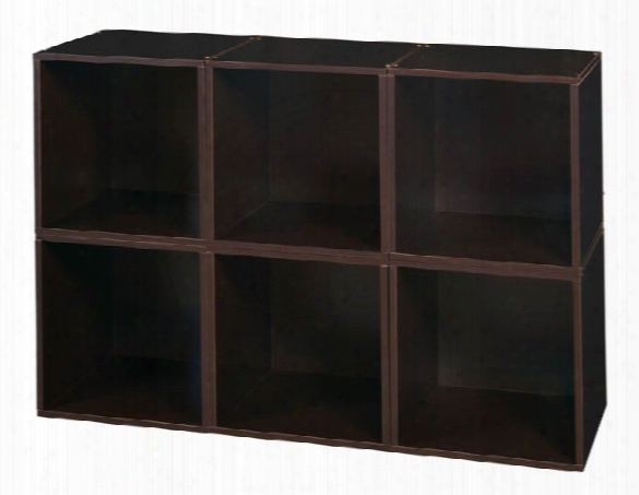 Niche Cubo Storage Set - 6 Cubes By Regency Furniture