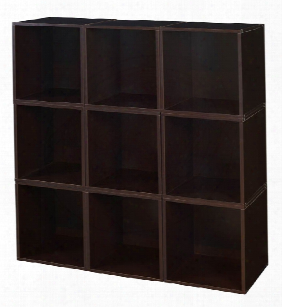 Niche Cubo Storage Set - 9 Cubes By Regency Furniture