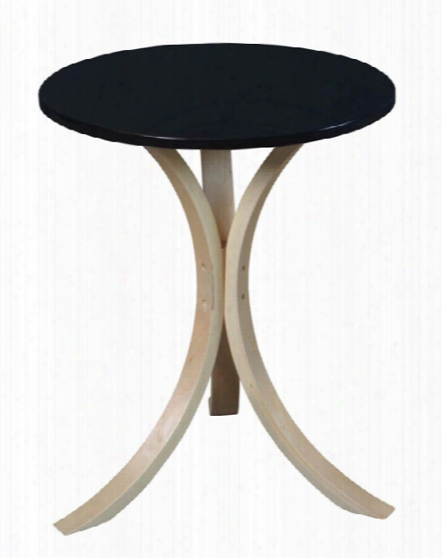 Niche Mia Bentwood Side Table By Regency Furniture