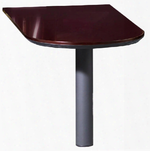 Peninsula Desk By Mayline Office Furniture