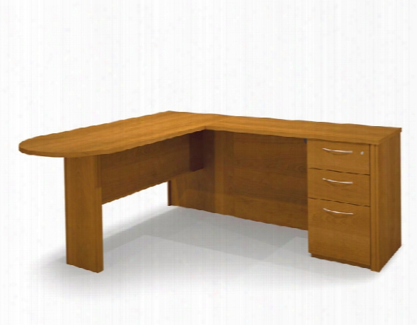 Peninsula L Shaped Desk 60880 By Bestar