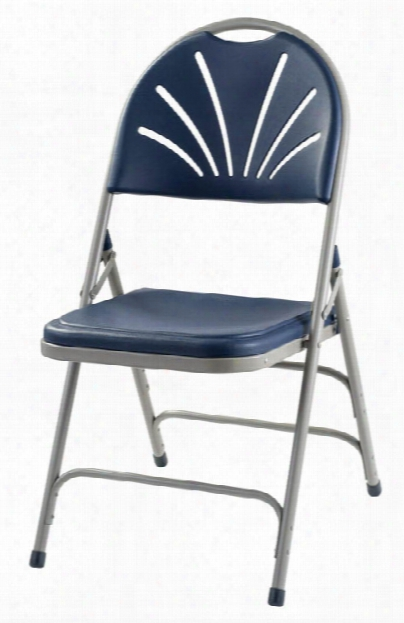 Polyfold Fan Back Chair With Triple Brace Double Hinge By National Public Seating