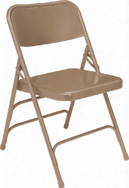 Premium All-steel Triple Brace Double Hinge Folding Chair By Ational Public Seating