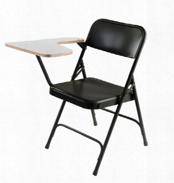 Premium Folding Chair With High Pressure Tablet Arm By National Public Seating