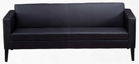 Prestige Top Grain Leather Sofa By Mayline Office Furniture