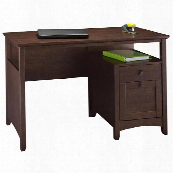 Single Pedestal Desk By Bush