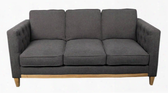 Sofa With Light Brown Wood Base By Office Source
